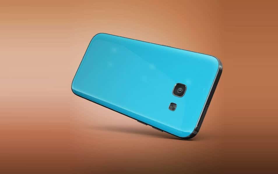 Samsung Galaxy Phone Back