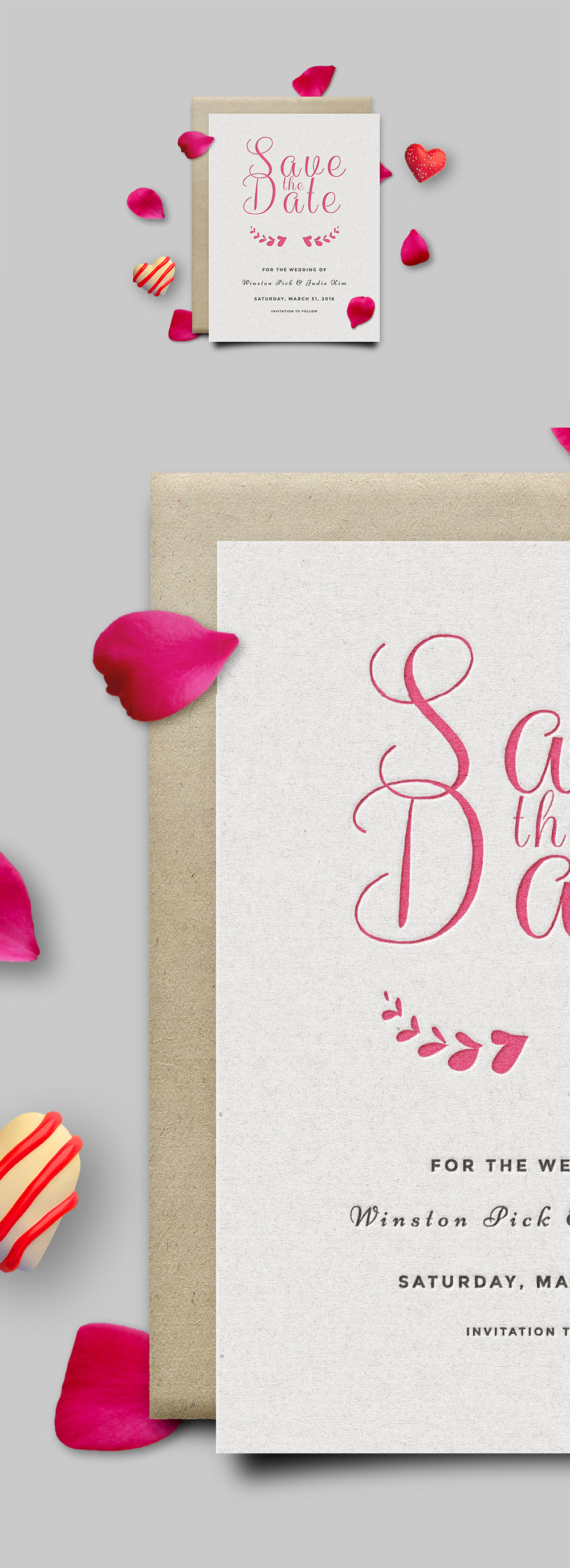 Lovely Date Invitation Card