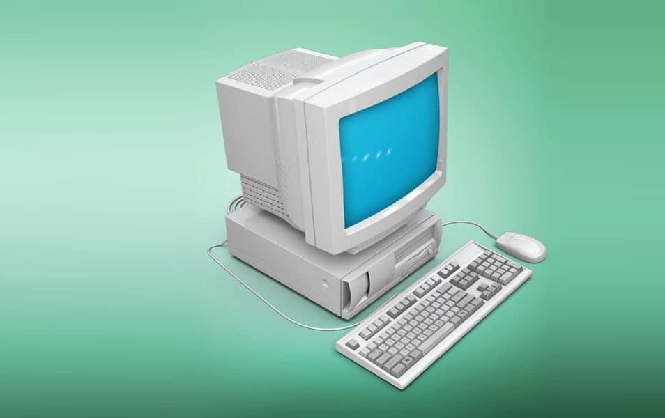 Realistic Vintage Computer