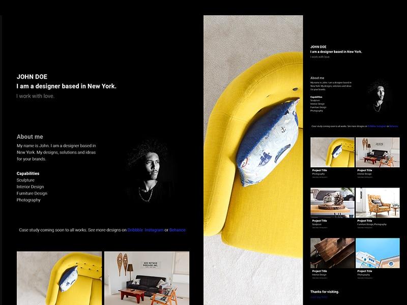 Simple Website Portfolio