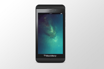 Free Blackberry Z10 Phone Mockup in PSD