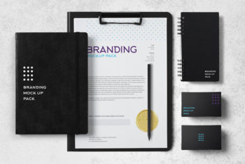 Stationery Branding Identity Mockup