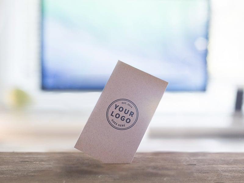 Standing Business Card Design