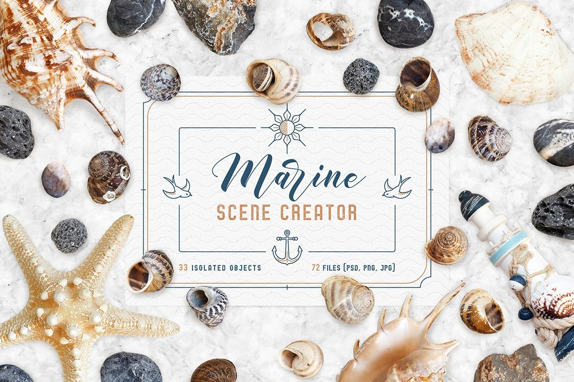 Marine Scene Flyer Design