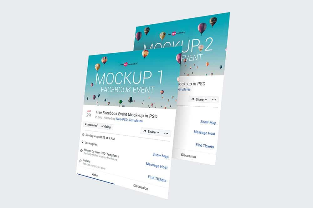 Download This Free Facebook Event Page Mockups - Designhooks