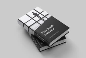 Free Download Complete Book Mockup