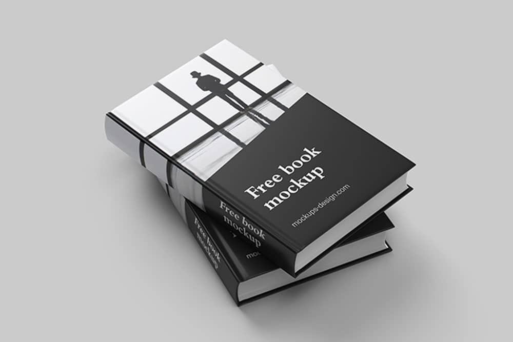 complete book mockup