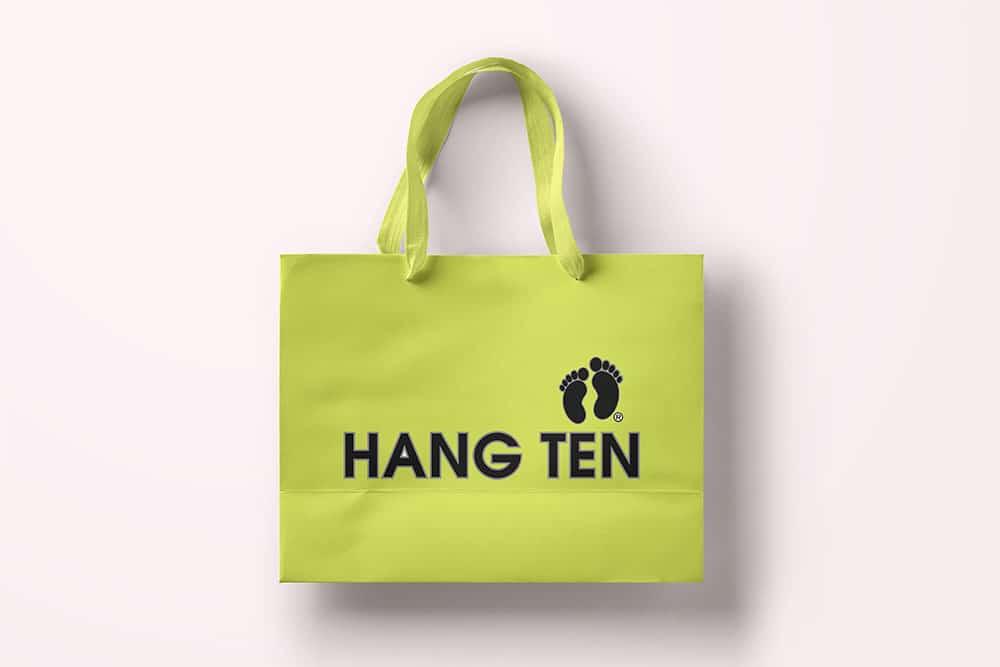 shopping bag mockup free psd