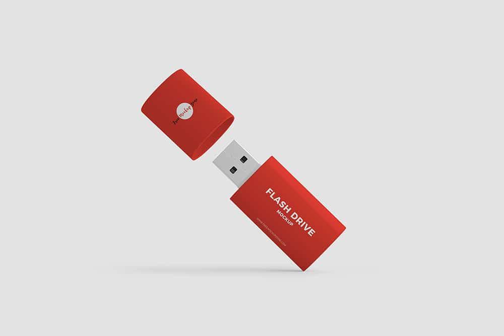 flash drive mockup