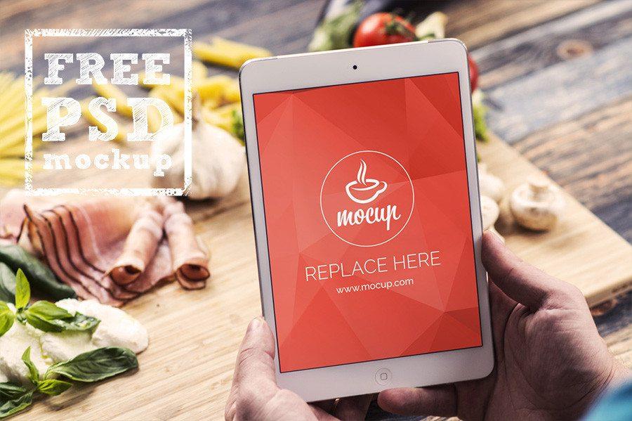 iPad Mini Plus Food Scene