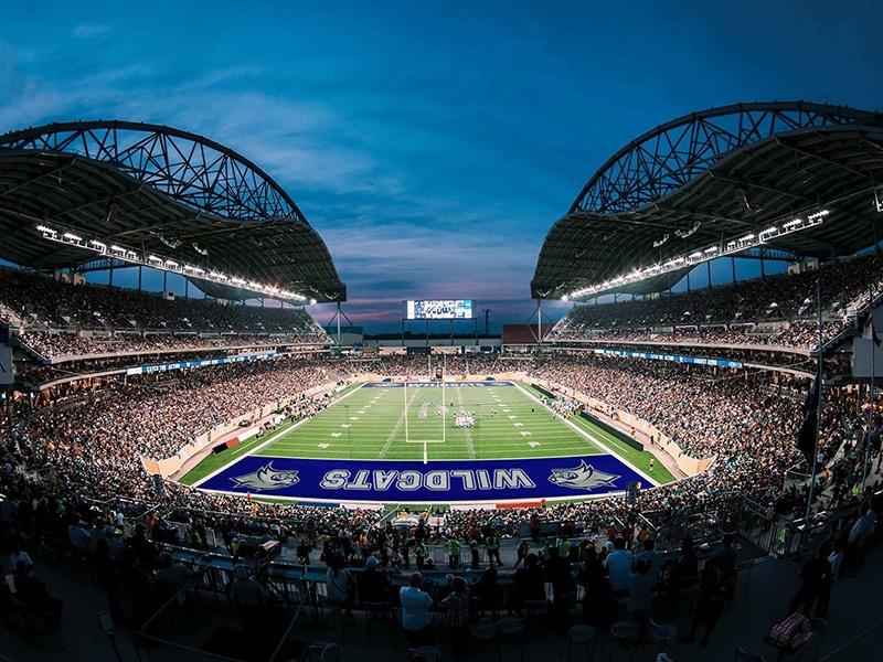 Realistic Football Field