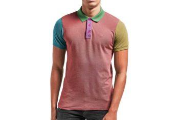 Free Men Shirt Mockup In PSD