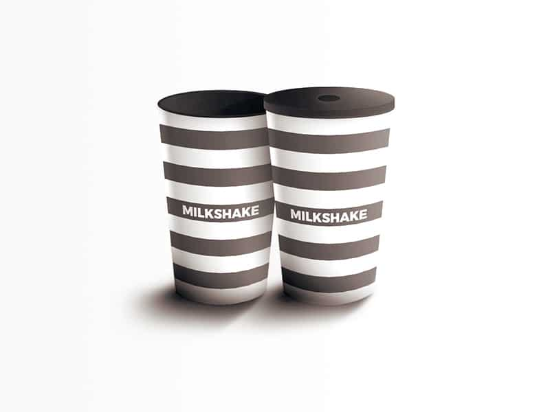 Milkshake Cup Design