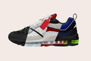 Free Nike Air Max 98 Sneakers Mockup in PSD