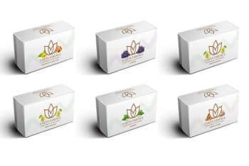 Packaging Box Mockup in PSD