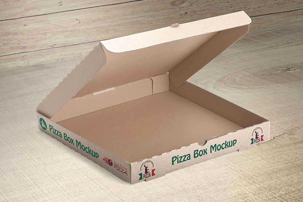 1080+ Pizza Box Mockup Free Download PSD File