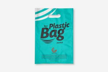 Free Download Plastic Bag Mockup in PSD