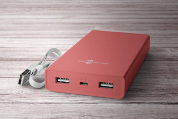 Free Power Bank Mockup In PSD