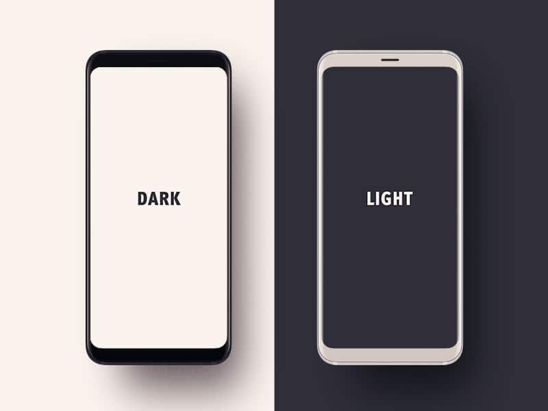 Samsung Galaxy S9 Monochrome