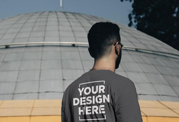 Male T-Shirt Back