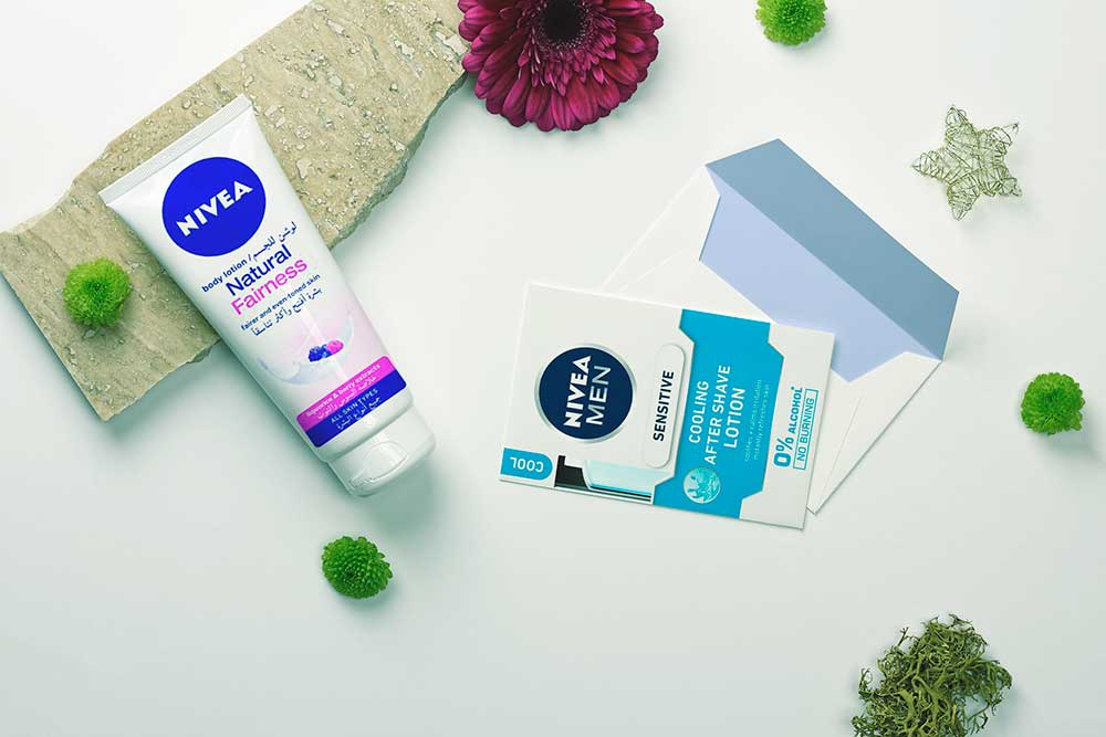 handcream postcard mockup