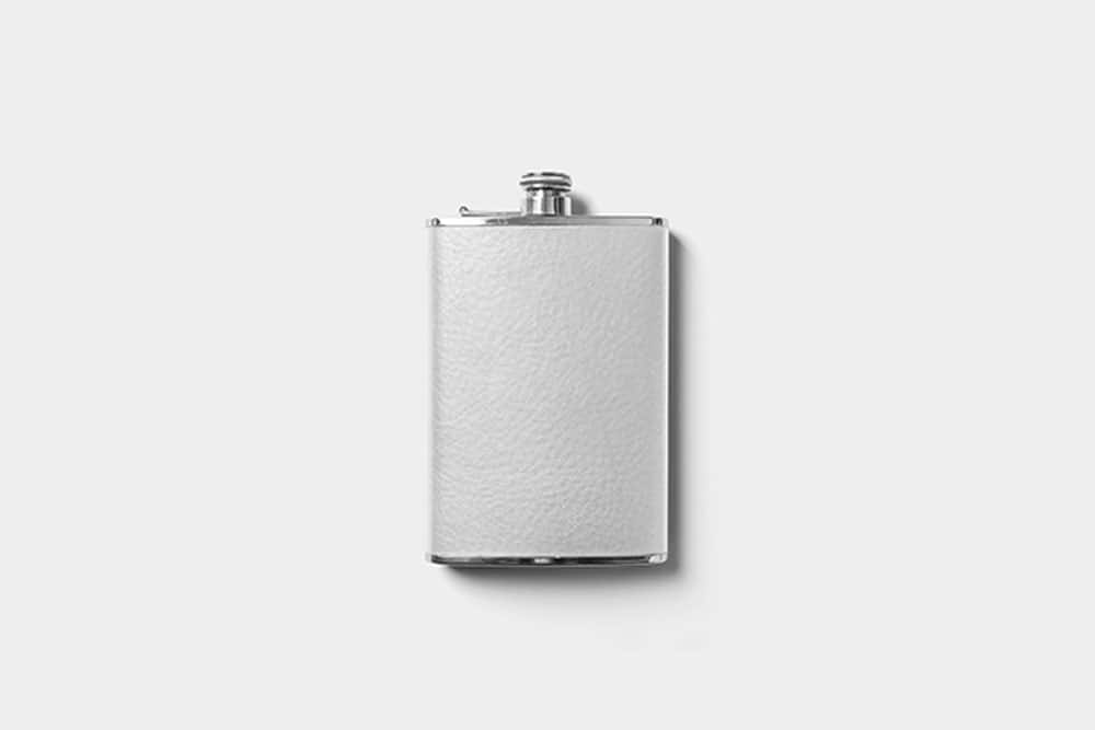 free hip flask mockup