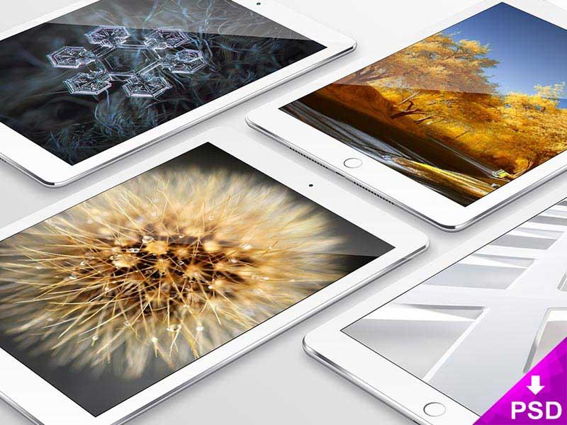 Apple iPad PSD Mockup Template