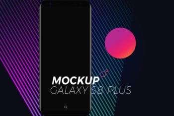 Free Samsung Galaxy S8 Mockup in PSD