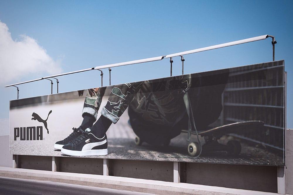 outdoor advertising billboard free mockup