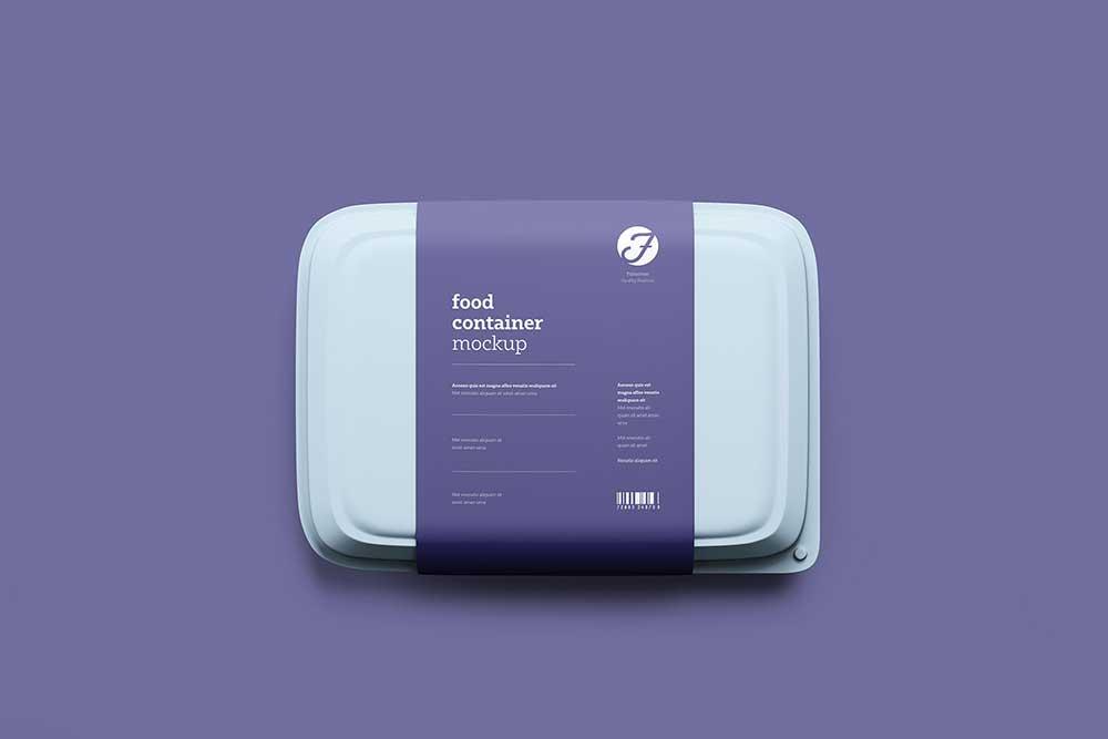 Free Download Plastic Food Box Mockup In Psd Designhooks