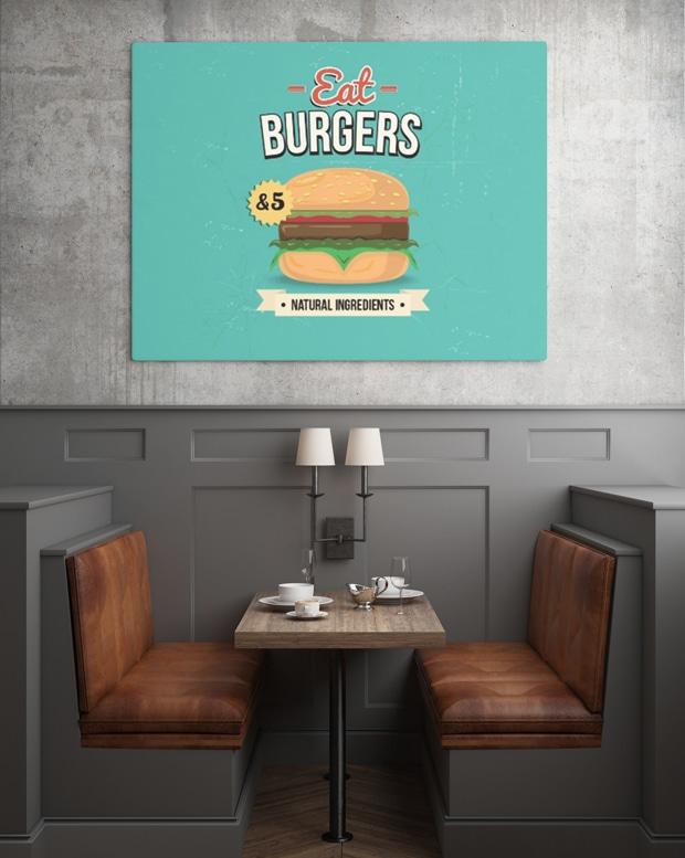 Restaurant Wall Poster