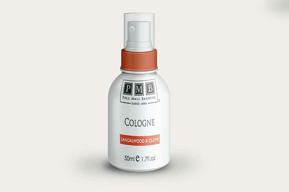 small cologne spray bottle mockup