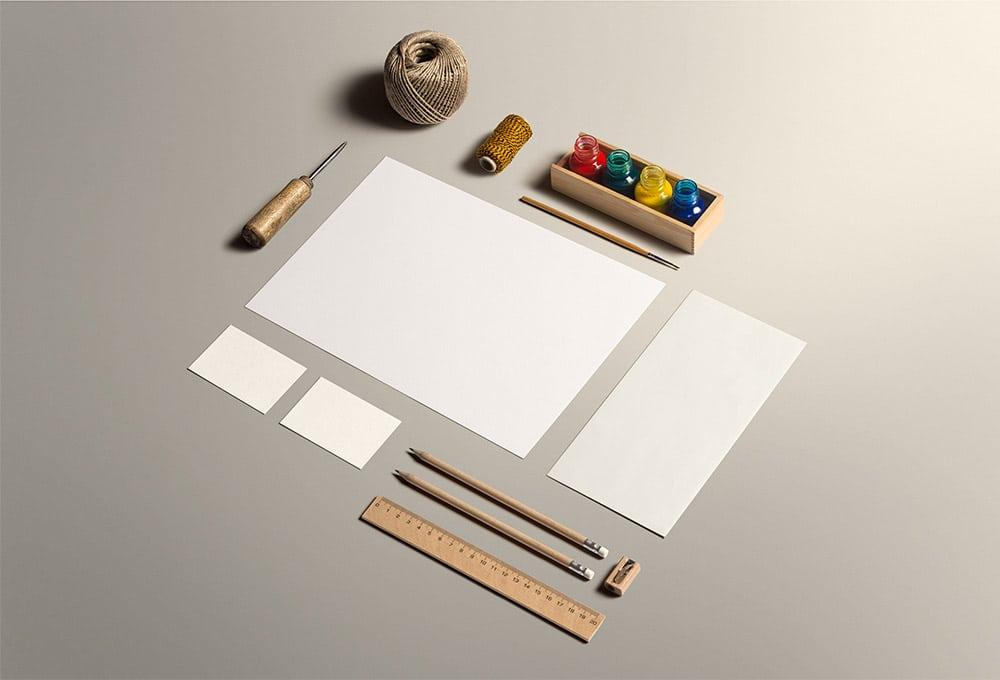 Arts Plus Crafts Stationery Scene