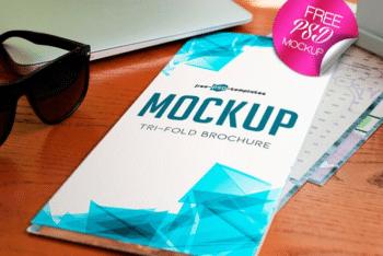 Exclusive Tri-fold Brochure Design Mockup