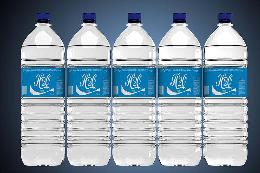 Download Free Download Water Bottle Label Mockup In PSD - Designhooks Free Mockups