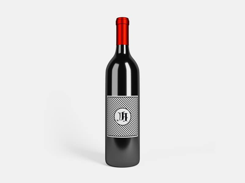 Wine Bottle Plus Parallax