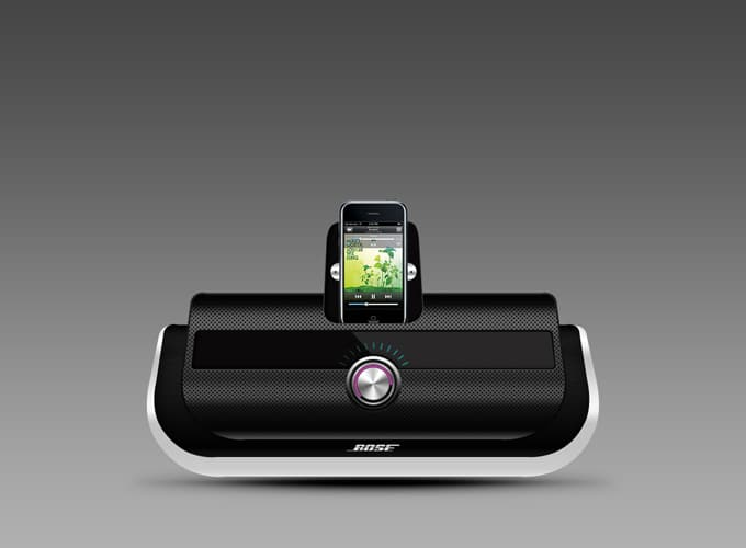 Apple iPod Speaker Stand