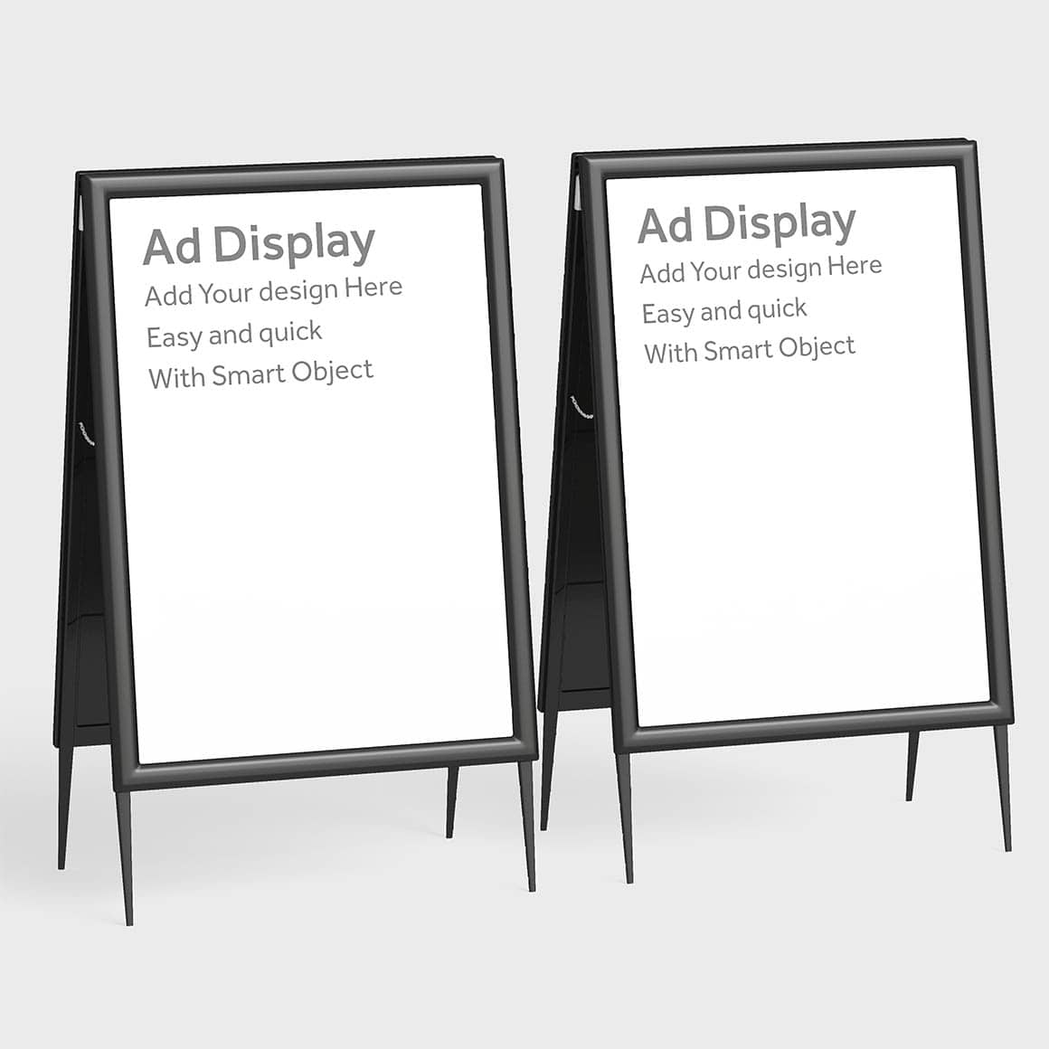 Physical Advertisement Display Stand