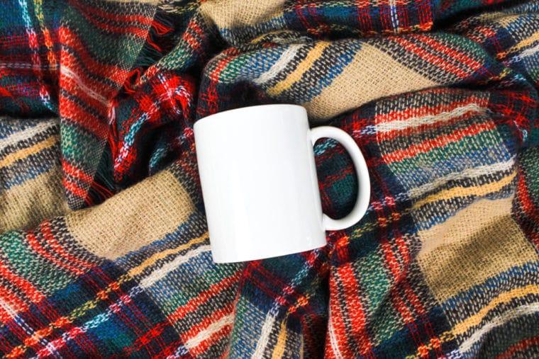 Plain Cozy Mug Design