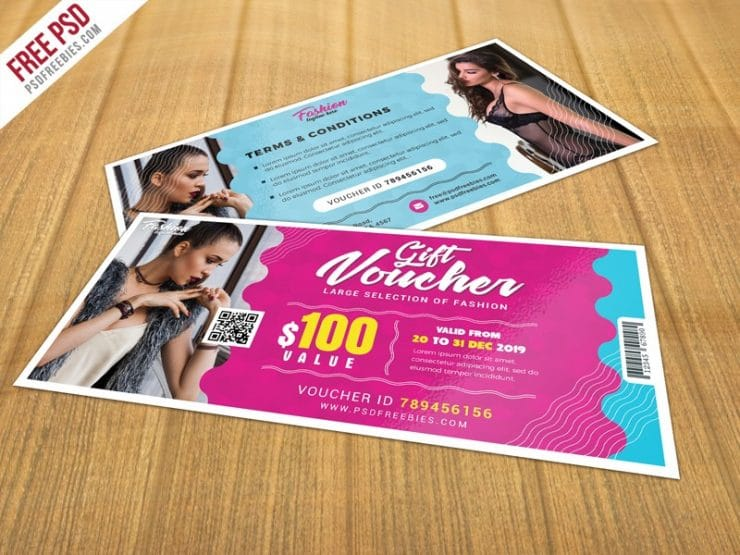 Awesome Gift Voucher Design