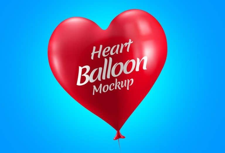 Lovely Heart Balloon Design