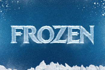 Free Chilly Ice Cool Text Effect Mockup in PSD