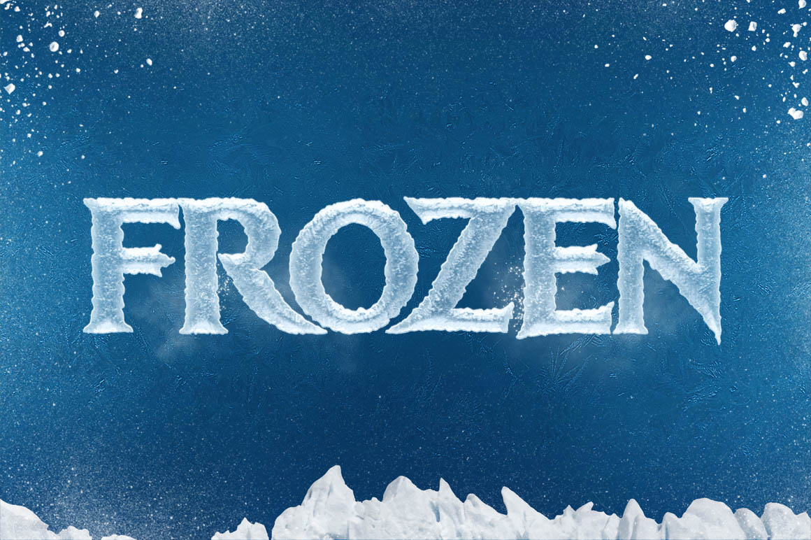 Ice Cool Text Effect