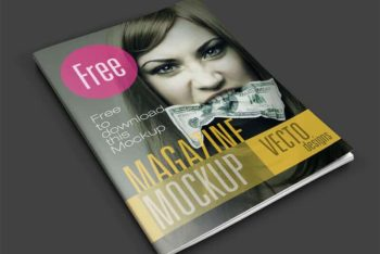Awesome Magazine PSD Mockup