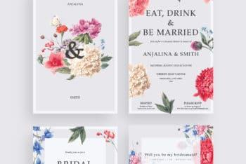 Wedding Invitation Card Template – Elegance Meets Usefulness