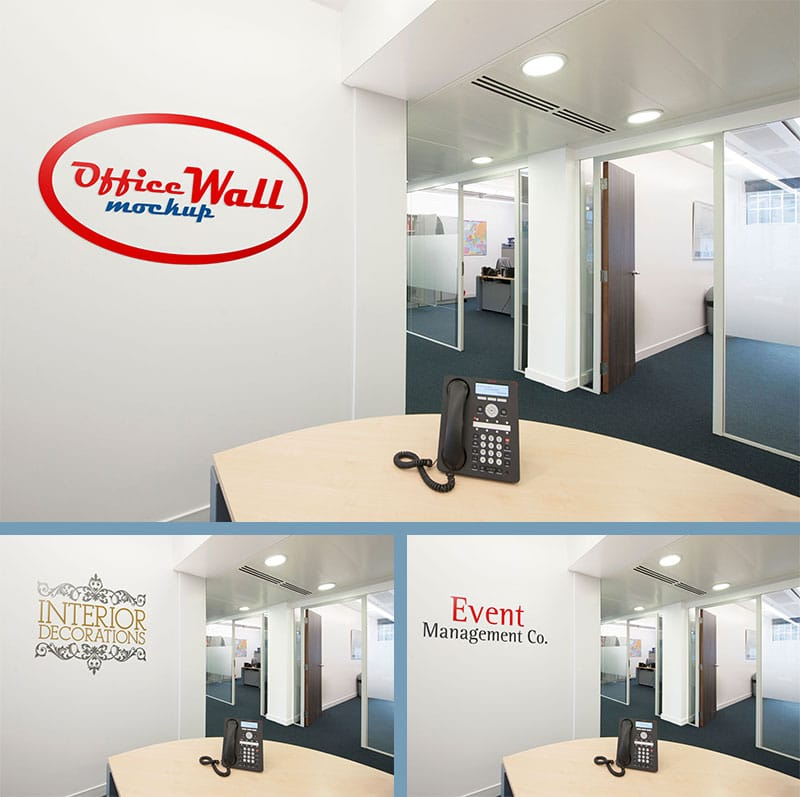 Office Interior Wall Sign