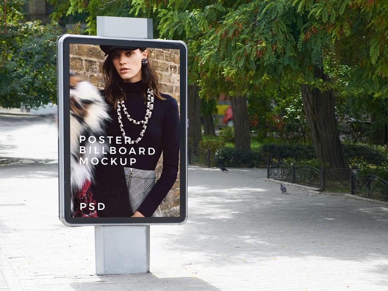 Outdoor Billboard PSD Template Design