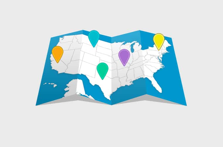 Folded Map Design