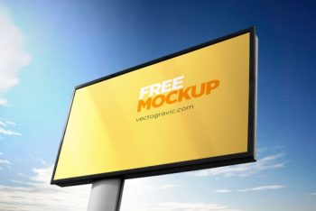 Signboard PSD Mockup For Effective Outdoor Advertising