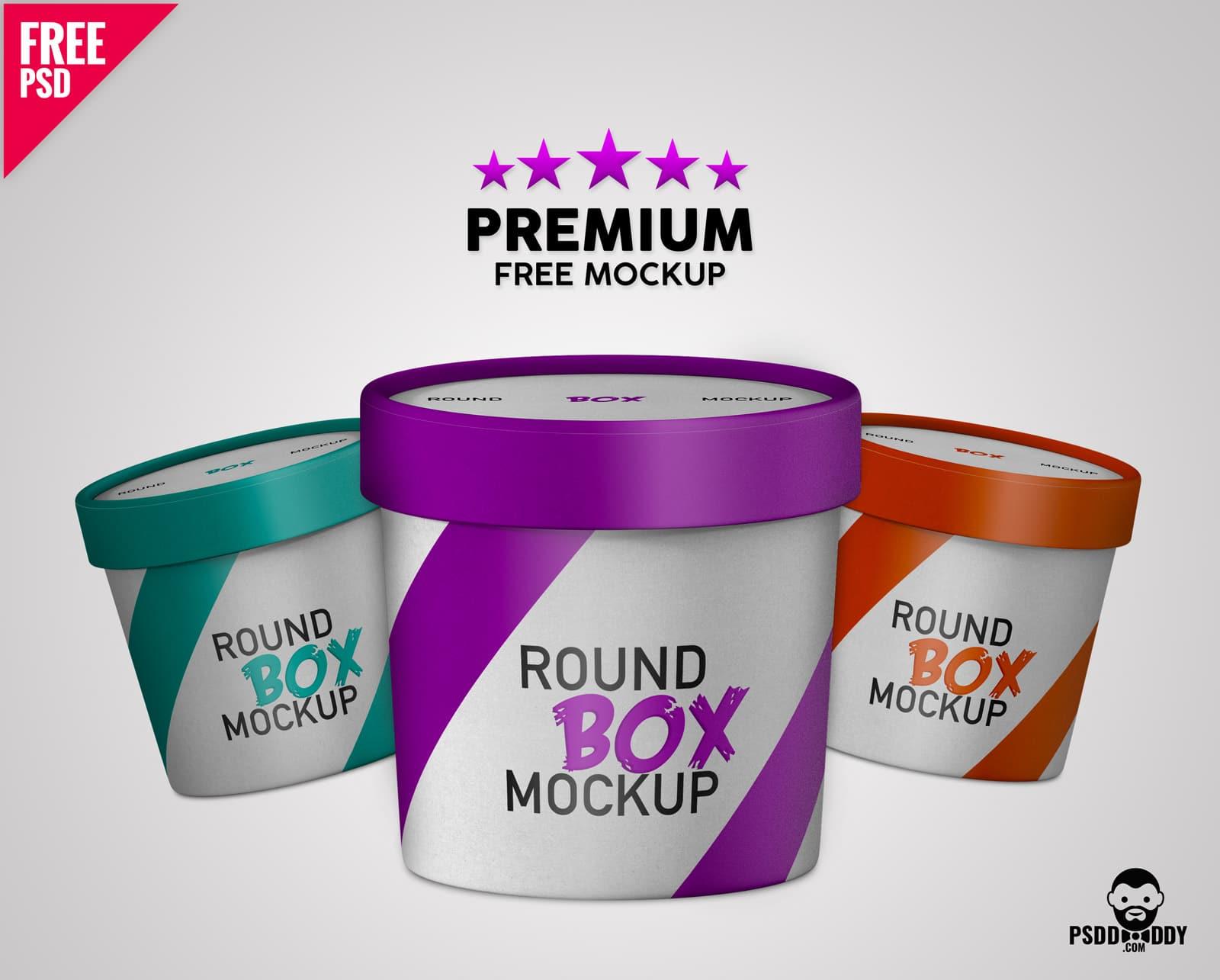 Premium Round Paper Box